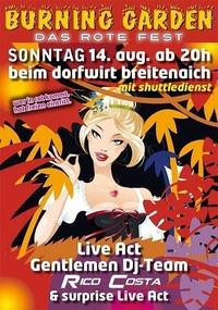 Burning Garden Vol. 8@Gasthaus Zum Dorfwirt