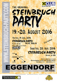 The Original STEINBRUCHPARTY - Oldie Abend@Steinbruchparty Eggendorf