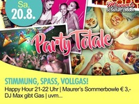 Party Totale@Maurer´s