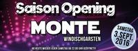 MONTE Saison Opening@Monte