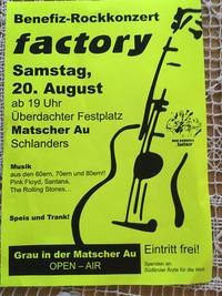 factory live@Kulturhaus Kortsch