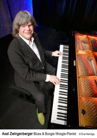 Axel Zwingenberger Blues & Boogie Woogie - piano - forte - solo@Stadtsaal Wien