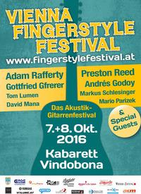 7. Vienna Fingerstyle Festival  - Das Akustik-Gitarrenfestival @Kabarett Vindobona