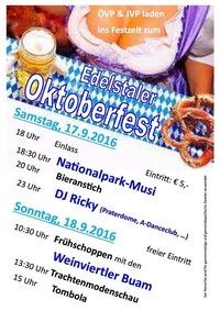 Edelstaler Oktoberfest 2016@Oktoberfest Edelstal
