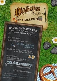 6. Oktoberfest der FF-Hollern@Feuerwehhaus