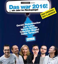 Scheitz, Gebrüder Moped, Fleischhacker, Lukas und Tartarotti - Das war 2016 - Ein Jahr im Rückspiegel@Stadtsaal Wien