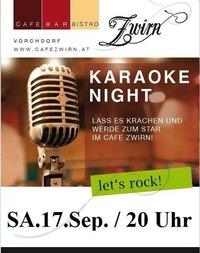 Karaoke Abend@Cafe Zwirn