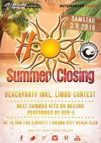 HOT Summer Closing 2016