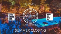 Klangboutique feat. Girls Like Dancing - Summer Closing@Pratersauna