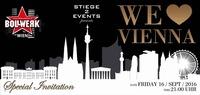 We love Vienna | 16.09.2016 - 1 Stunde gratis trinken@Bollwerk