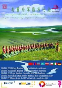 KONZERT DES MONGOLISCHEN A-CAPPELLA CHORS MIT WELTKUTURERBE: KHOOMEI UND URTYN DUU@Mozarteum