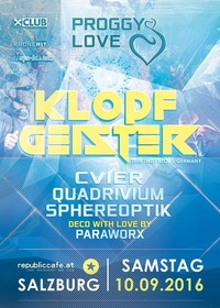 Proggy Love w/ Klopfgeister@Republic