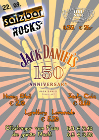 Salzbar Rocks Jack Daniels 150th Anniversary@Salzbar