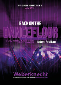 Back on the Dancefloor@Weberknecht