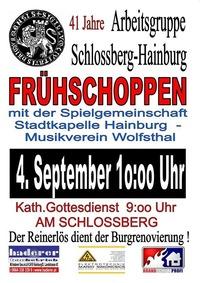 Frühschoppen@Arbeitsgruppe Schlossberg Hainburg