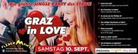GRAZ in Love - die größte Single PARTY der STADT@Fledermaus Graz