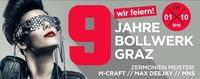 9 JAHRE Bollwerk GRAZ@Bollwerk