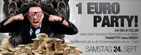 Monatsende 1€ PARTY mit SIGI DI Collini@Bollwerk Klagenfurt