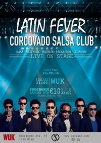 LATIN FEVER - CSC live on stage@WUK