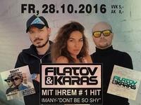 Filatov & Karas – LIVE zu Gast@Partymaus Wörgl