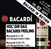Bacardi in Aktion@Partymaus Wörgl