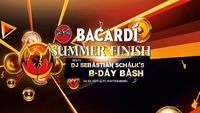 Bacardi Summer Finish meets DJ Sebastian Schalk's B-Day Bash@Disco P2