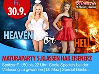 Heaven or Hell - Maturaparty 5.Klassen BHAK Eisenerz@Maurer´s