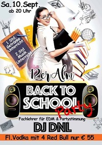 Back to School Party@12er Alm Bar
