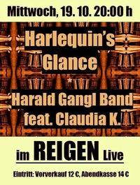 Harald Gangl Band feat. Claudia K. und Harlequins Glance@Reigen