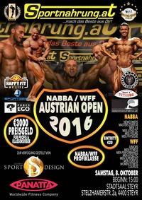 NABBA Austrian Open 2016@Stadtsaal Steyr