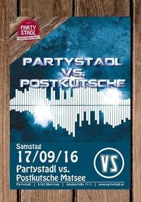 Partystadl vs. Postkutsche Mattsee@Partystadl