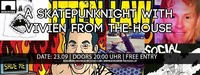 A Skatepunk-Night w/ Vivien from the House@Bergwerk