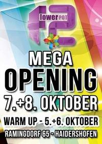 Mega Opening Party!@Flowerpot