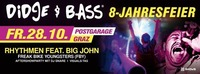 BIG JAM - 8 Jahre Didge & Bass@Postgarage