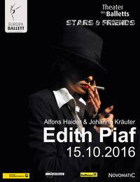"EDITH PIAF ""La vie en rose - Wir bereuen nichts""@Theater des Balletts"