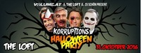 Korruptions Halloween Party@The Loft