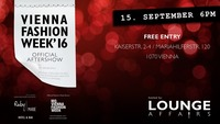 Official Vienna Fashion Week'16 Lounge at Ruby Marie Bar@Ruby Marie Hotel & Bar