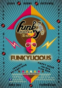 Funkylicious - we love music@Funky Monkey