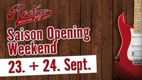 Saison Opening Weekend!@Rockys Music Bar