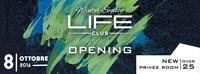 Saturday 8 october opening winter season 2016/2017@LIFE Club Bolzano