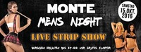 MONTE Mens Night@Monte