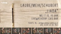 Laube/Meik/Schubert live in der academy@academy Cafe-Bar