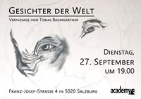 Vernissage: Tobias Baumgartner - Gesichter der Welt@academy Cafe-Bar