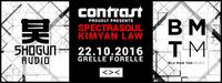 Contrast presents Spectrasoul & Kimyan Law@Grelle Forelle