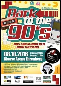 GYM-Ball 2016: Back to the 90's - Aus einem anderen Jahrtausend@Klause Arena