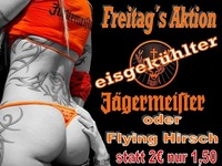 JÄGERMEISTER WEEKEND@ 1EURO BAR