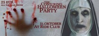 The Conjuring - Halloween Party - 16+@Ride Club