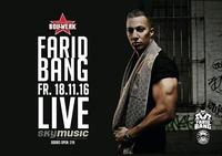 FARID BANG//Clubshow//Bollwerk Graz@Bollwerk