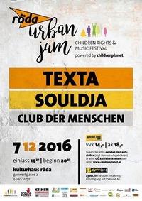 Röda Urban Jam feat. Texta, Souldja und Club der Menschen@KV Röda