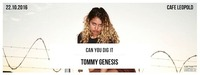 Canyoudigit w/ Tommy Genesis (Awful Records / US)@Café Leopold